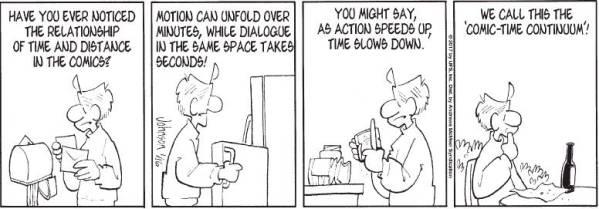 comic time